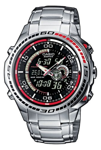 Casio Edifice Herren-Armbanduhr Analog / Digital Quarz EFA-121D-1AVEF