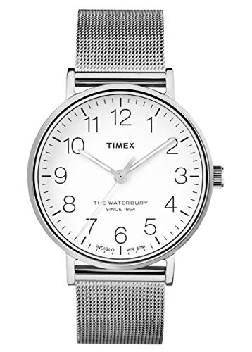 Timex Herren Analog Quartz Uhr The Waterbury