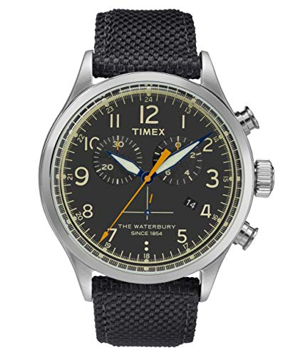 Timex Herren Chronograph Quartz Uhr Waterbury Traditional