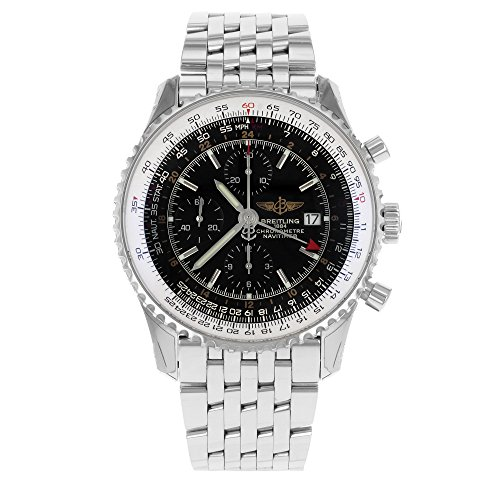 Breitling a2432212.b726.443a–Armbanduhr, Armband in Stahl